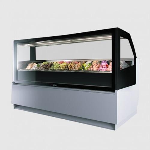 Tủ trưng bày kem Ý BRX 22 Khay