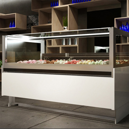 Tủ trưng bày kem Ý Gelatec 18 Khay